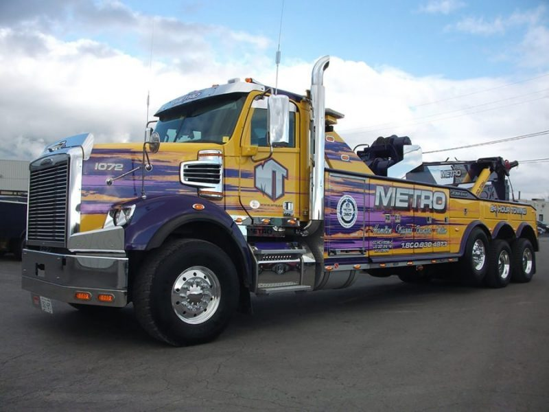 24/7 Truck Towing in Milton